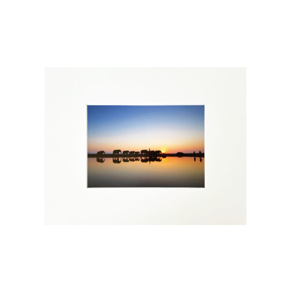 Fine Art Print Sunset Blue 24x30